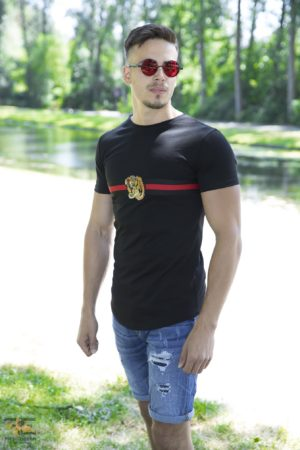 Red Band Heren T-Shirt – Zwart 200
