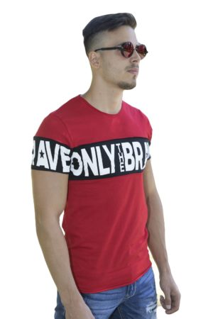 Red Brave Heren T-Shirt – Rood