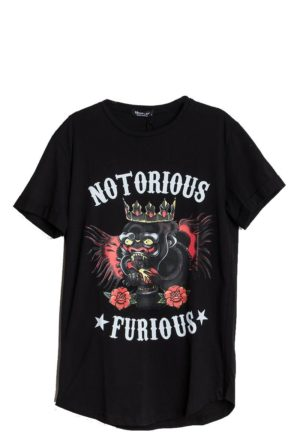 Notorious Furious Heren T-Shirt – Zwart